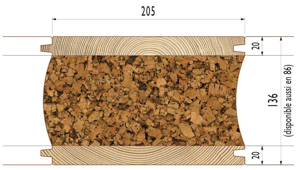 liege isolant figure btiment habill de plaques de. Black Bedroom Furniture Sets. Home Design Ideas
