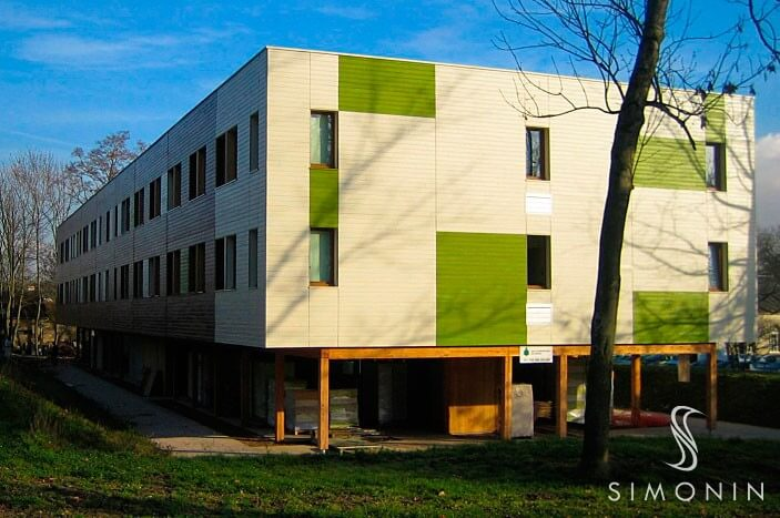 Exterior Solid Wood Covering, Timber Frame Construction | Simonin