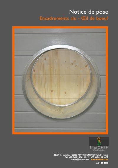 T l chargements documents d 39 informations simonin for Oeil de boeuf aluminium