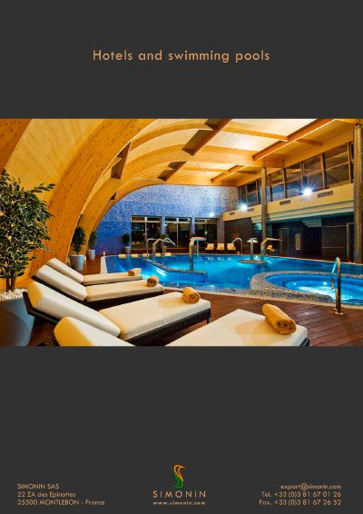 Indoor Pool With Long Span Structure Simonin
