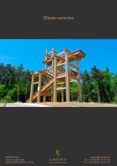 Architectural Designs And Footbridges Simonin