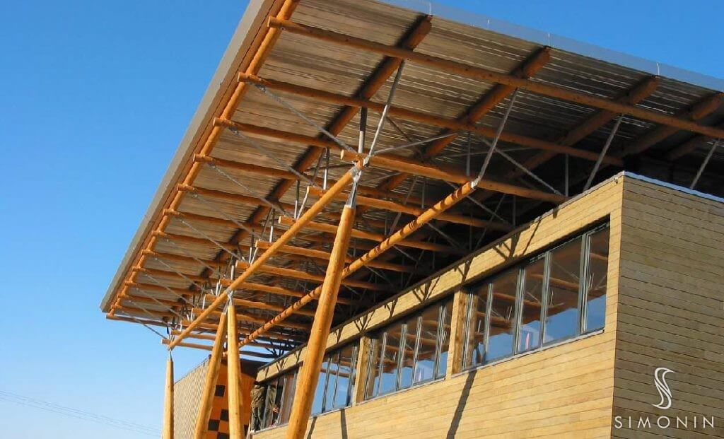 Glulam Roof Construction 12 300 About Roof
