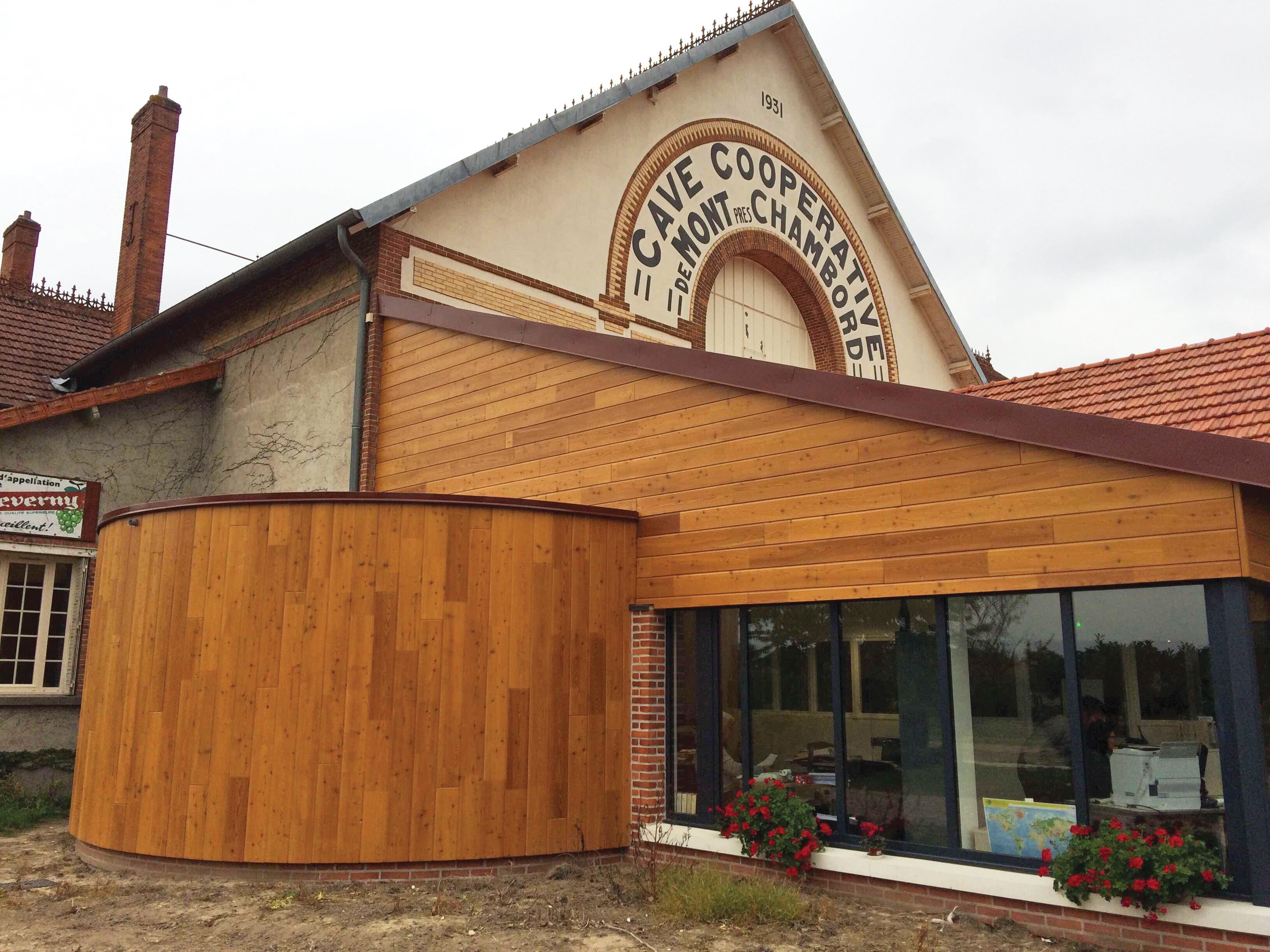 Exemple De Bardage Exterieur revêtement extérieur en bois massif, construction en